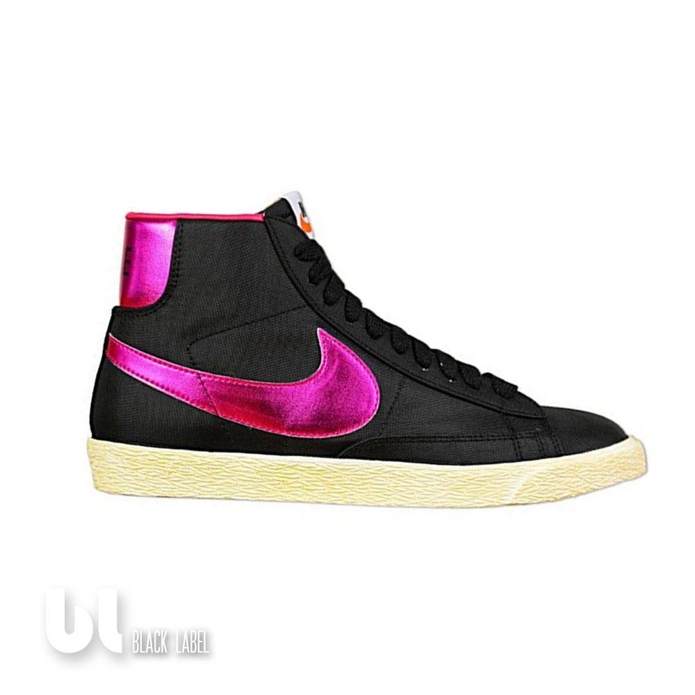 many fashionable detailed look new lifestyle Details zu Nike Blazer High Vintage Damen Schuhe Mädchen Kinder Sport  Schuhe Schwarz Pink